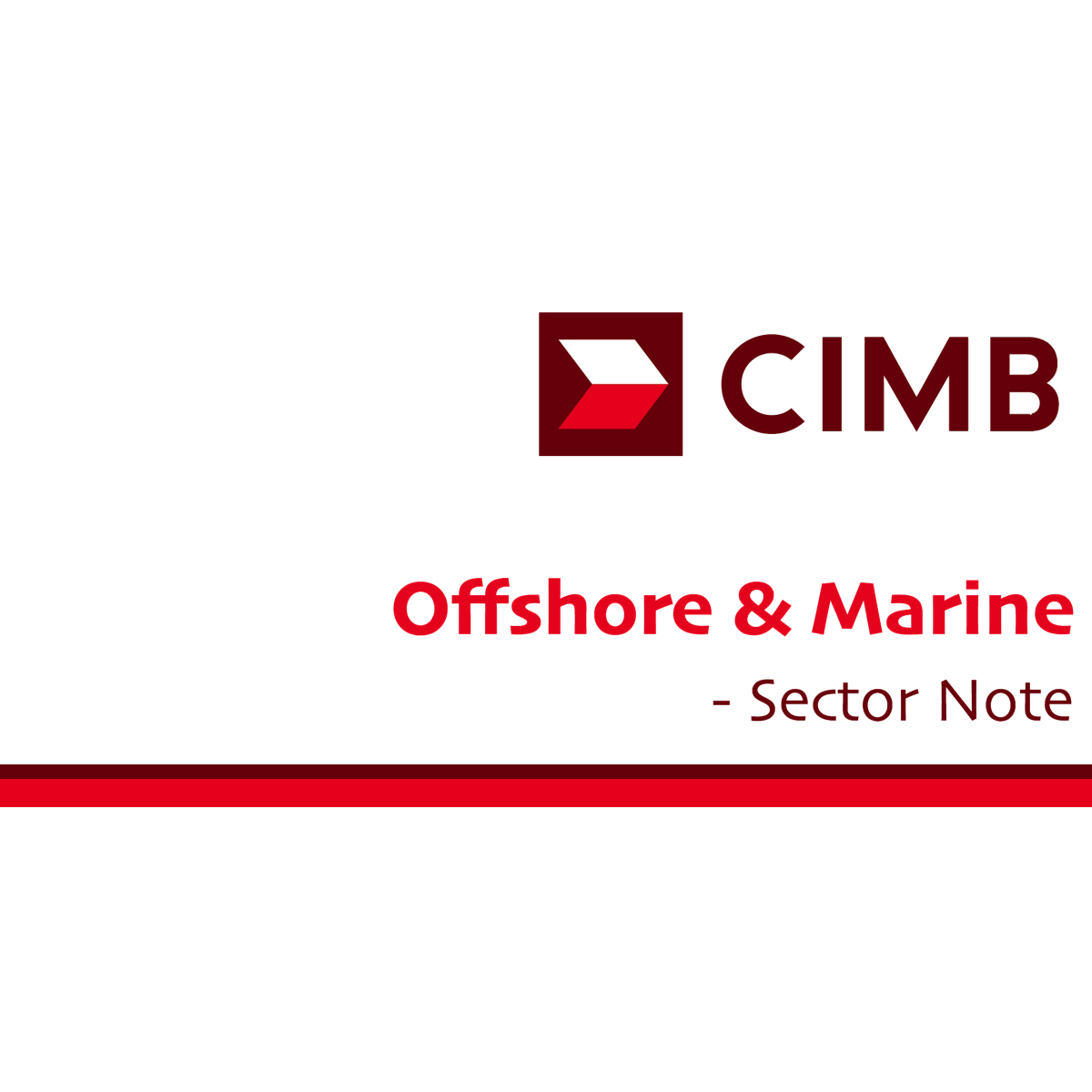 Offshore & Marine - CIMB Research 2016-12-05: Oil circular reference