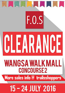 F.O.S Clearance Sale wangsa walk
