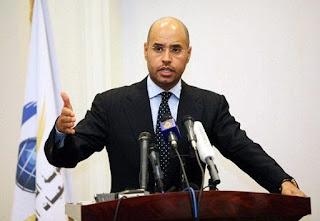 Liberan al hijo de Gadafi que había sido condenado a muerte en Libia (+ Video)