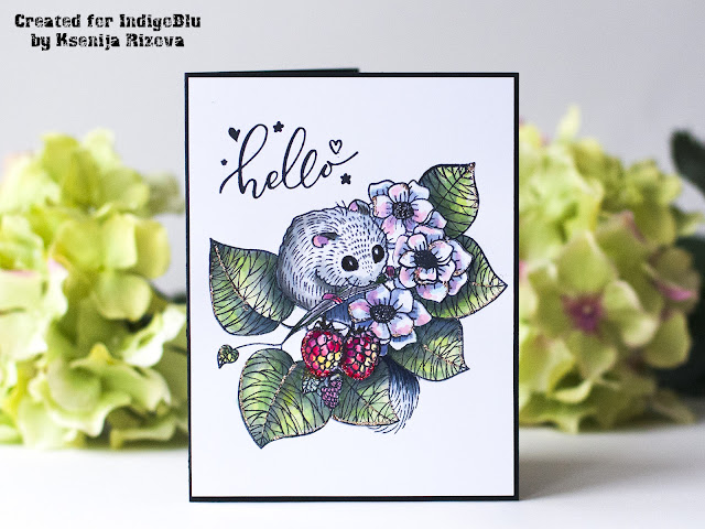 2 Must-Haves Embellishments for Watercolored Hand Made Cards