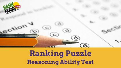Ranking Puzzles - Reasoning Ability