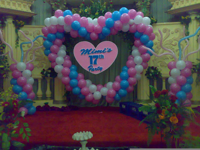 Dekorasi Sweet 17 Birthday party