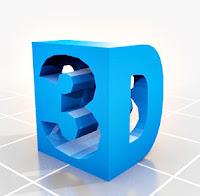 3 Boyutlu 3D yazısı