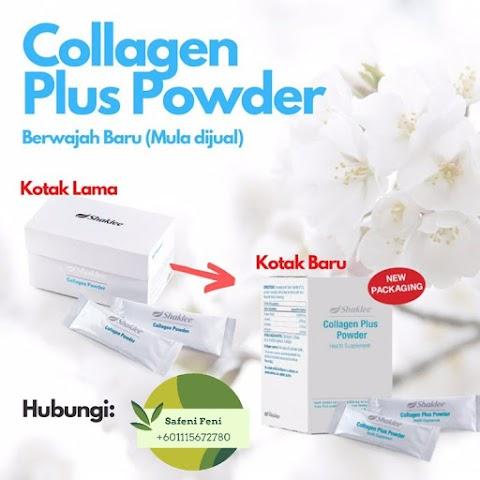 Shaklee Collagen Powder Kembali Dengan Wajah Baru