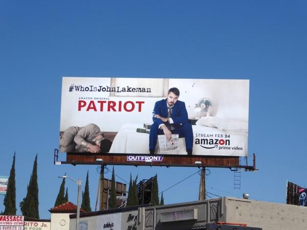 Patriot series premiere billboard