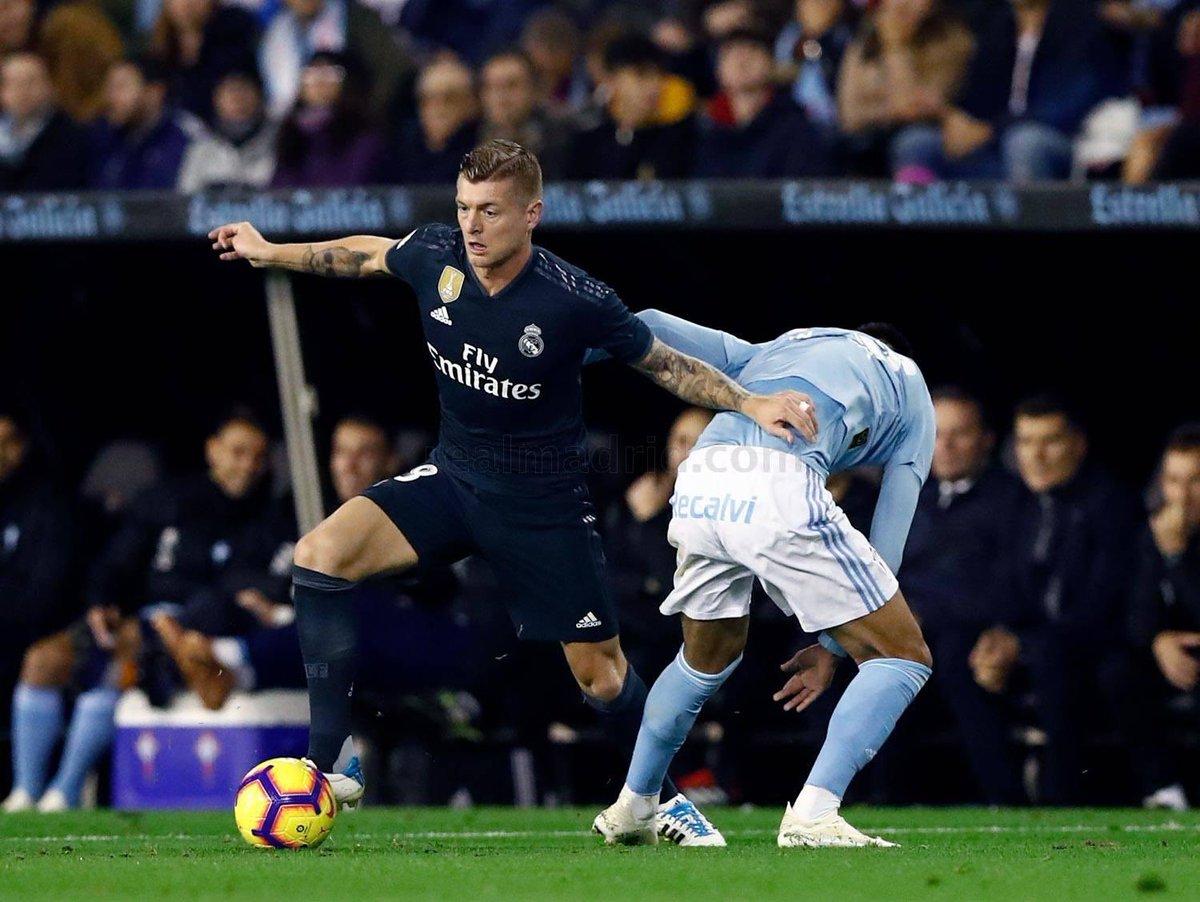 ce6937e4ea3 Toni Kroos Plays With Adidas adiPure 11pro Boots In La Liga Clash Away At  Celta Vigo