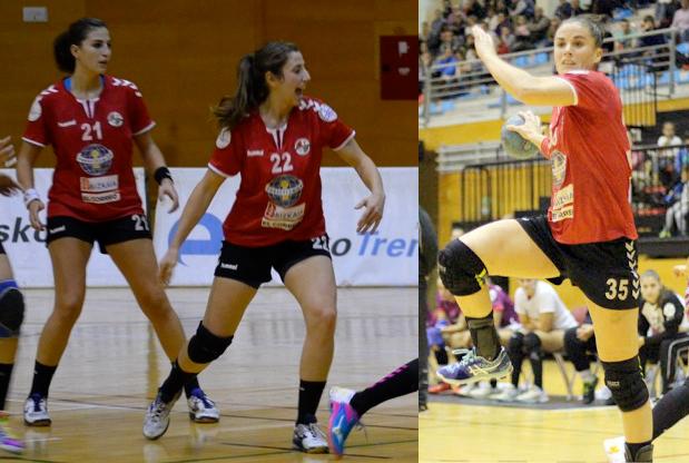 Balonmano | Irene Espínola, Naiara Egozkue y Ángela Martín no continúan en el Zuazo