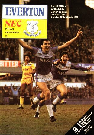 Fritz The Flood English Leagues The 80s Everton Chelsea