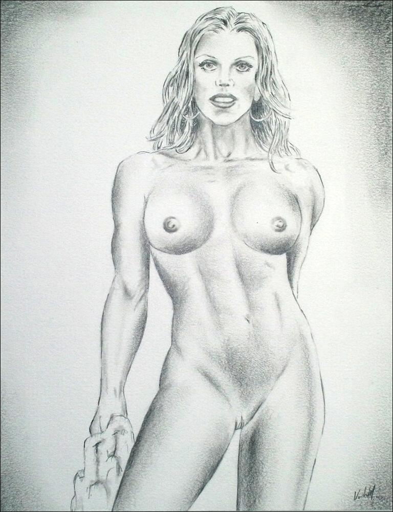 Art drawings of nude girls