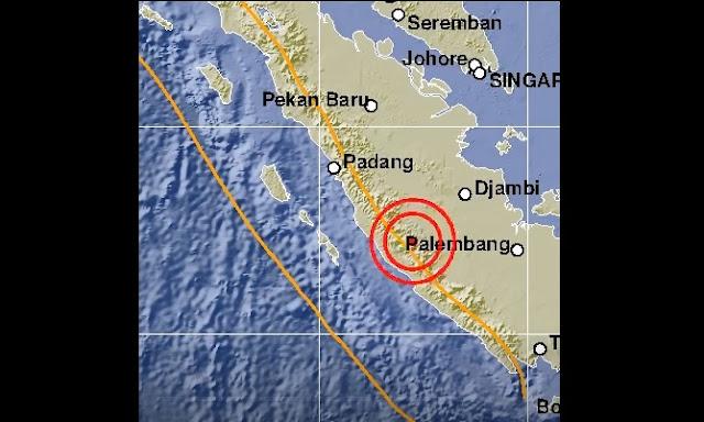 Gempa 5,7 SR Guncang Bengkulu, Terasa Sampai Padang