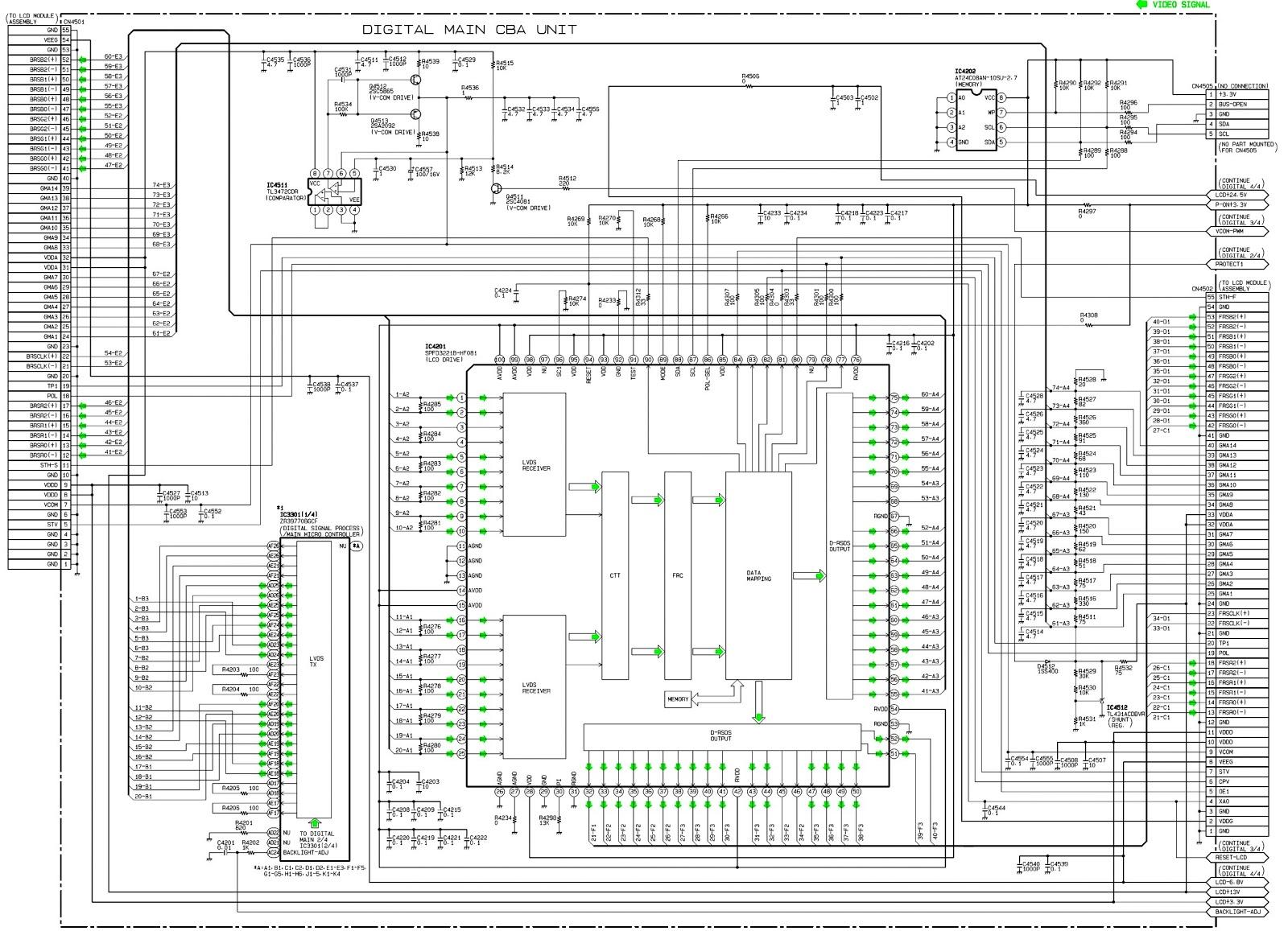 lg schematic diagrams model 47ln5400 ua