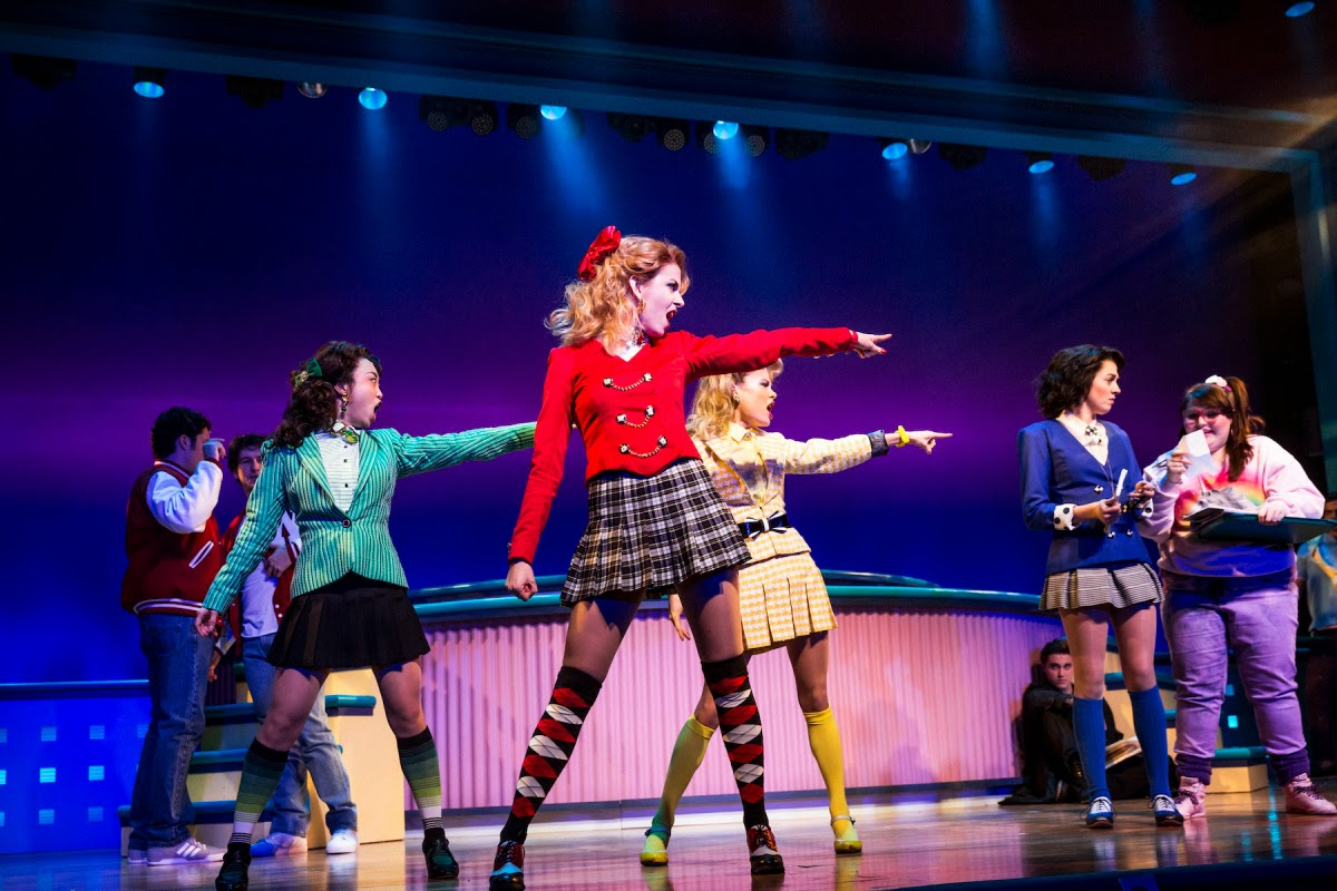 Heathers The Musical Costume Sketches Are So Very  sc 1 st  Halloweenu0027s Best Costumes And Ideas & Halloweenu0027s Best Costumes And Ideas: Heathers: The Musical Costume ...