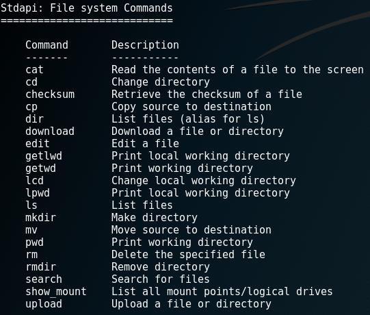 Nhóm lệnh quản lý file.