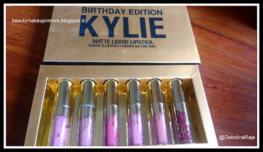 My first makeup purchase from Instagram the Kylie Matte Liquid Lipstick Birthday Edition