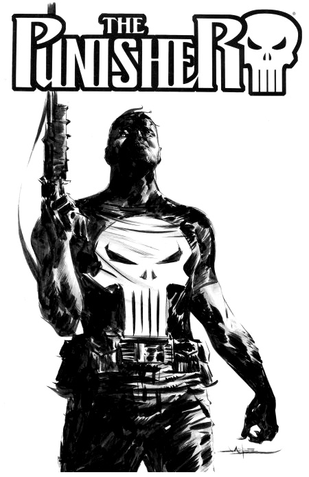 Punisher And Black Cat