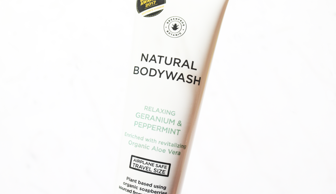 Greenfrog Botanic Natural Bodywash in Relaxing Geranium & Peppermint
