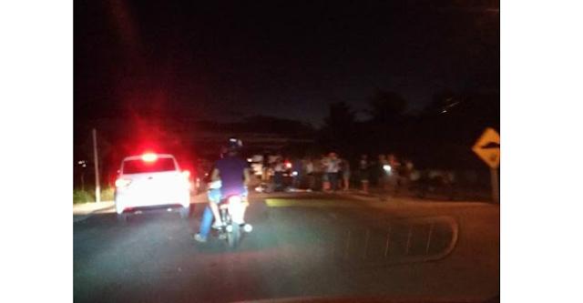 Em São José da Tapera, motociclista morre após colidir na traseira de caminhão-baú