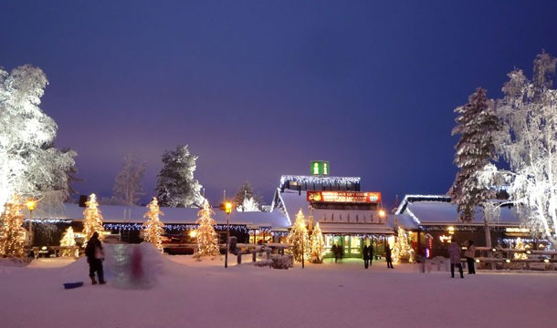 Santa Claus Village and Santa Park, Napapiiri in Lapland, Finland