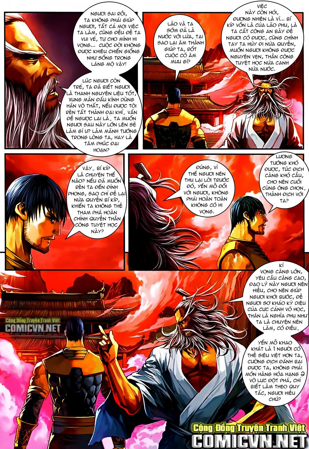 Ôn Thuỵ An Quần Hiệp Truyện Phần 2 chapter 37 trang 12