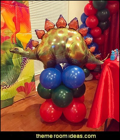 Stegosaurus Dinosaur  Dinosaur birthday party Supplies - dinosaur party decorations - Dinosaur Party Theme - dinosaur party decoration ideas - Dinosaur Dino Party Decoration Supplies - Prehistoric Dinosaur Party  - Dinosaur Theme Kids Birthday Party Decoration