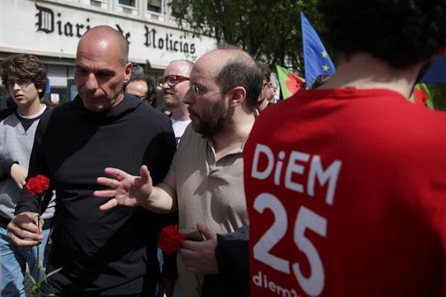 """25 DE ABRIL   """"A Europa é uma espécie de campo de concentração"""" - Varoufakis"""