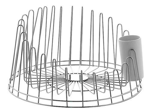 Round Kitchen Sink With Drainer