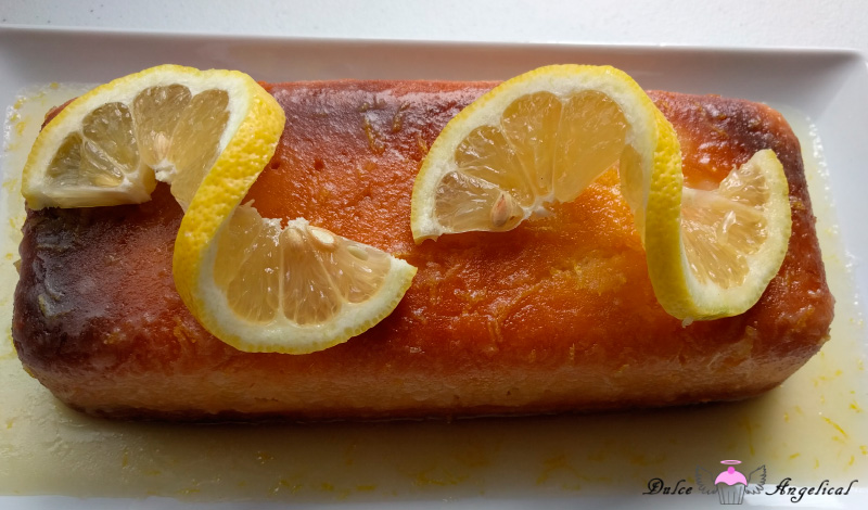 Receta del Bizcocho de limón con glaseado