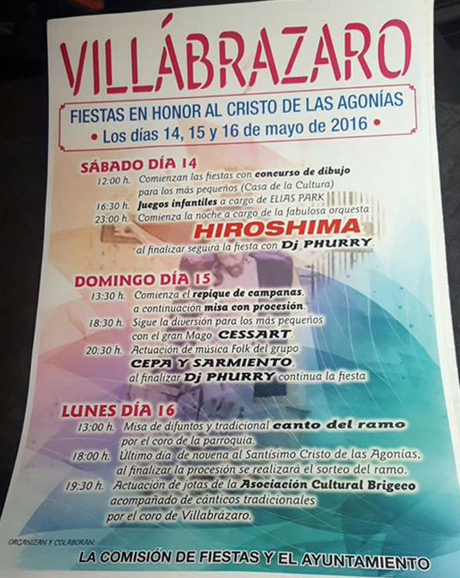 Villabrázaro Vivo! - Página 2 CartelFiestasCristo2016