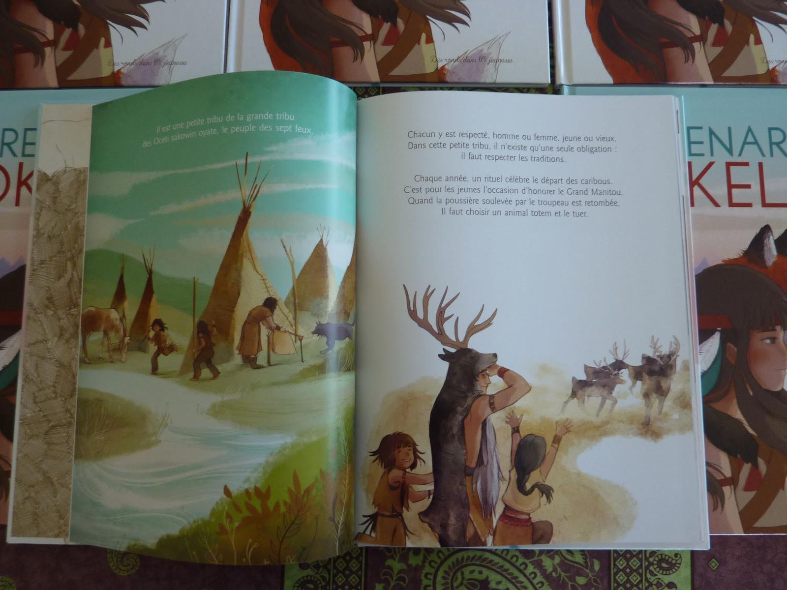 Le renard Tokela, de Pog et Marianne Alexandre - Voir les 3 photos (sur le blog)
