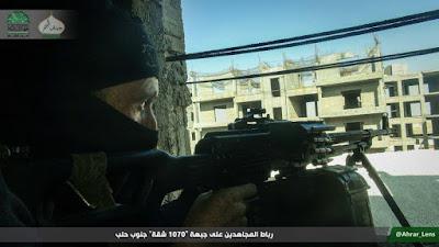 sniper mujahidin ahrar al-sham di project 1070