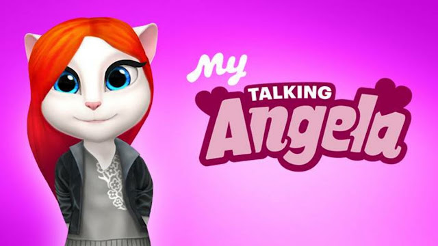 Image result for Minha Talking Angela V1.2.1