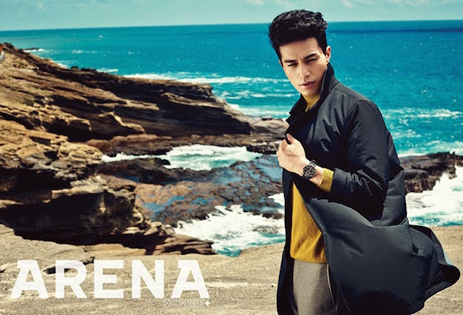 Lee Dong Wook, Lee Dong Wook Arena Homme,  Lee Dong Wook for Arena Homme+, 이동욱