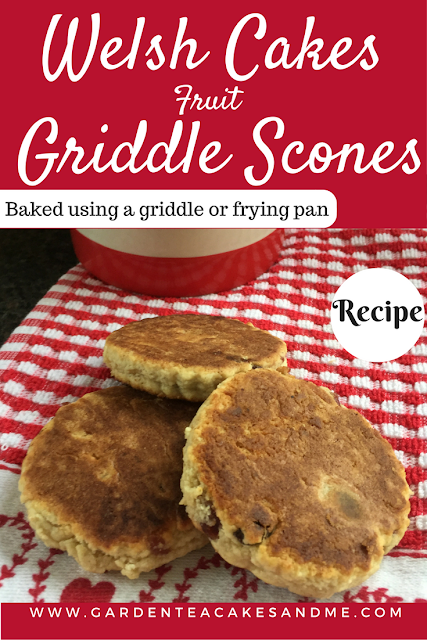 Griddle Scones Welsh Cakes Recipe no oven baking griddle pan cooking