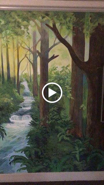 forest mural, oregon mural, portland artist, portland mural, portland muralist, portland oregon art, portland oregon muralist, tree mural
