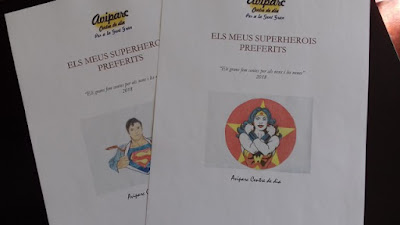 Portades del conte Els meus Superherois preferits