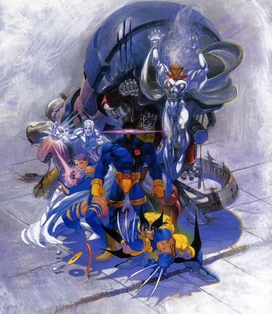 xmen children of the atom arcade 1994 wolverine storm cyclops psylocke iceman magneto