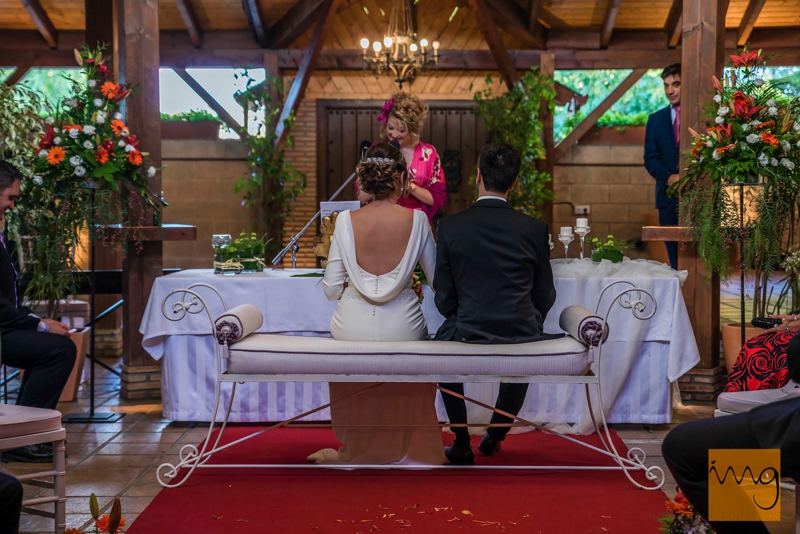 Fotografía de boda en el Mayerling, Granada.
