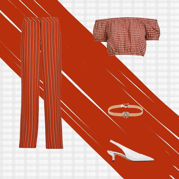 Çizgili Pantolonlar Nasıl Kombinlenir?