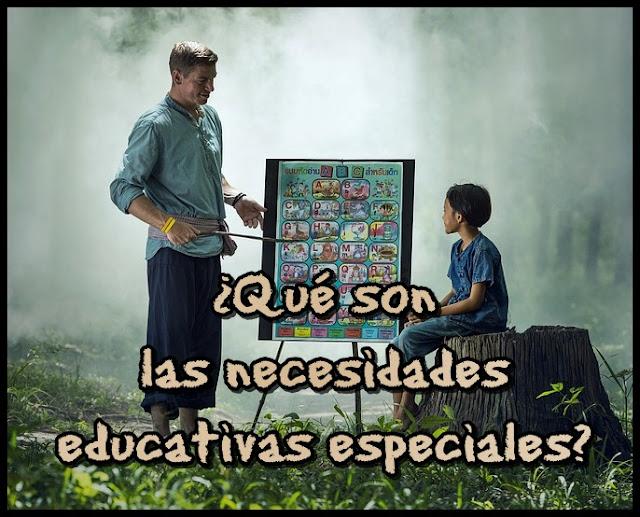 ¿Qué son las necesidades educativas especiales?