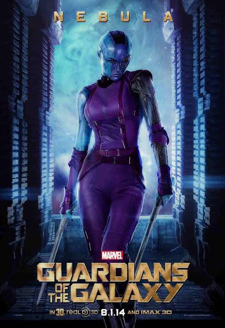 Karen Gillan es Nebula en Guardianes de la Galaxia