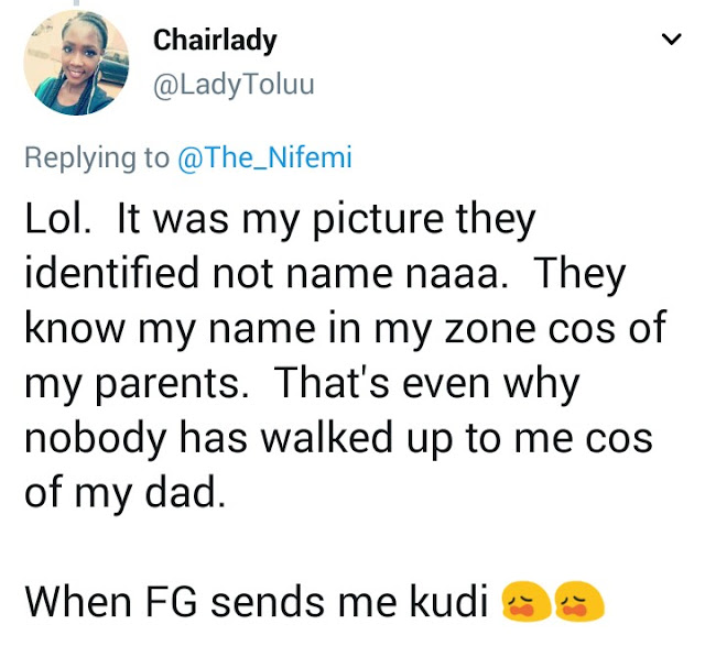 Lady says her tweet about going from Lagos to Sokoto for d*ck has gotten her unwanted male attention