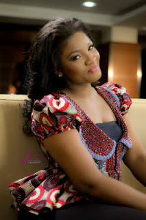 Nigeria Fashion Station: Omotola In An Ankara Jacket