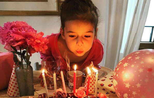 Princess Amalia of Nassau (Amalia Gabriela Maria Teresa) is the eldest child of Prince Felix and Princess Claire