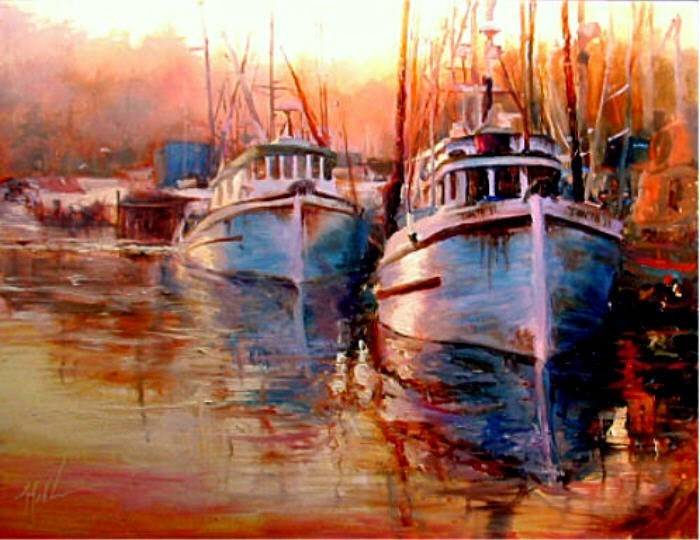Американский художник. Scott Mattlin
