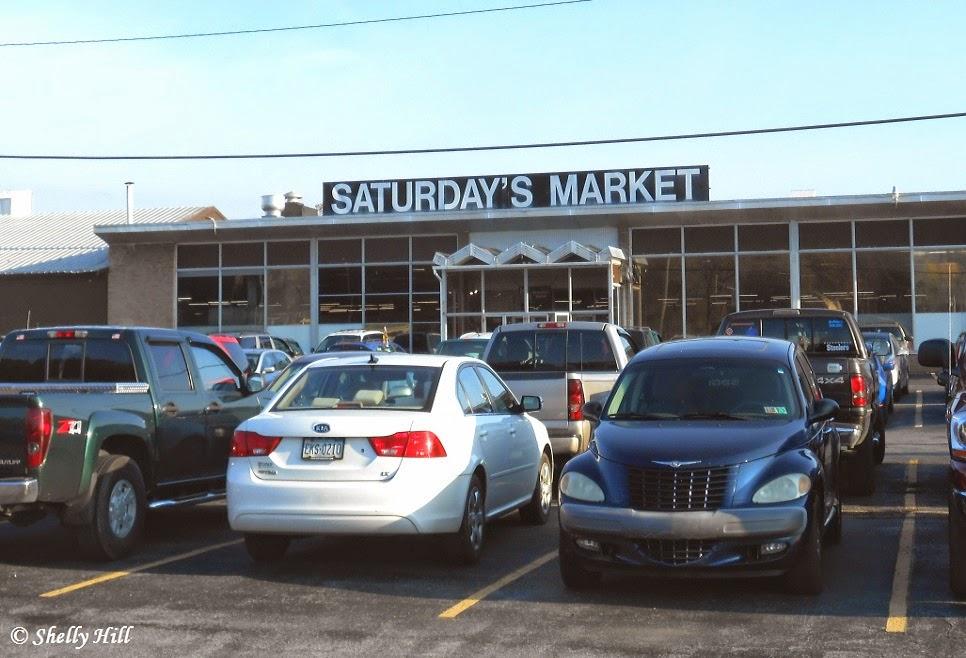 Saturday's Market in Middletown Pennsylvania