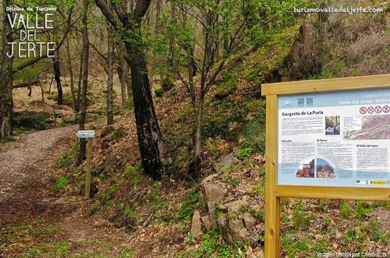 Ruta senderista en el Valle del Jerte