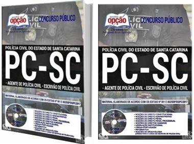 Apostilas PC-SC 2017 Agente e Escrivão