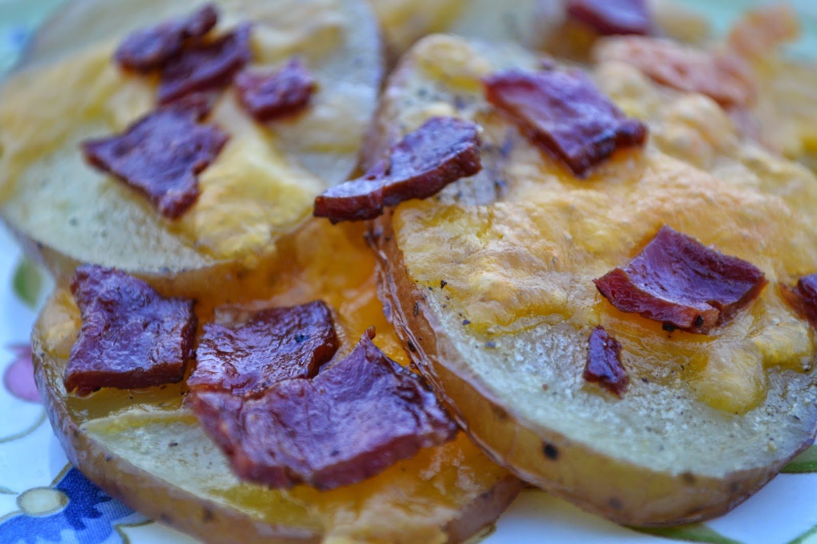 10DaysofTailgate - Cheesy Maple Leaf Farm Duck Bacon Oven Chips