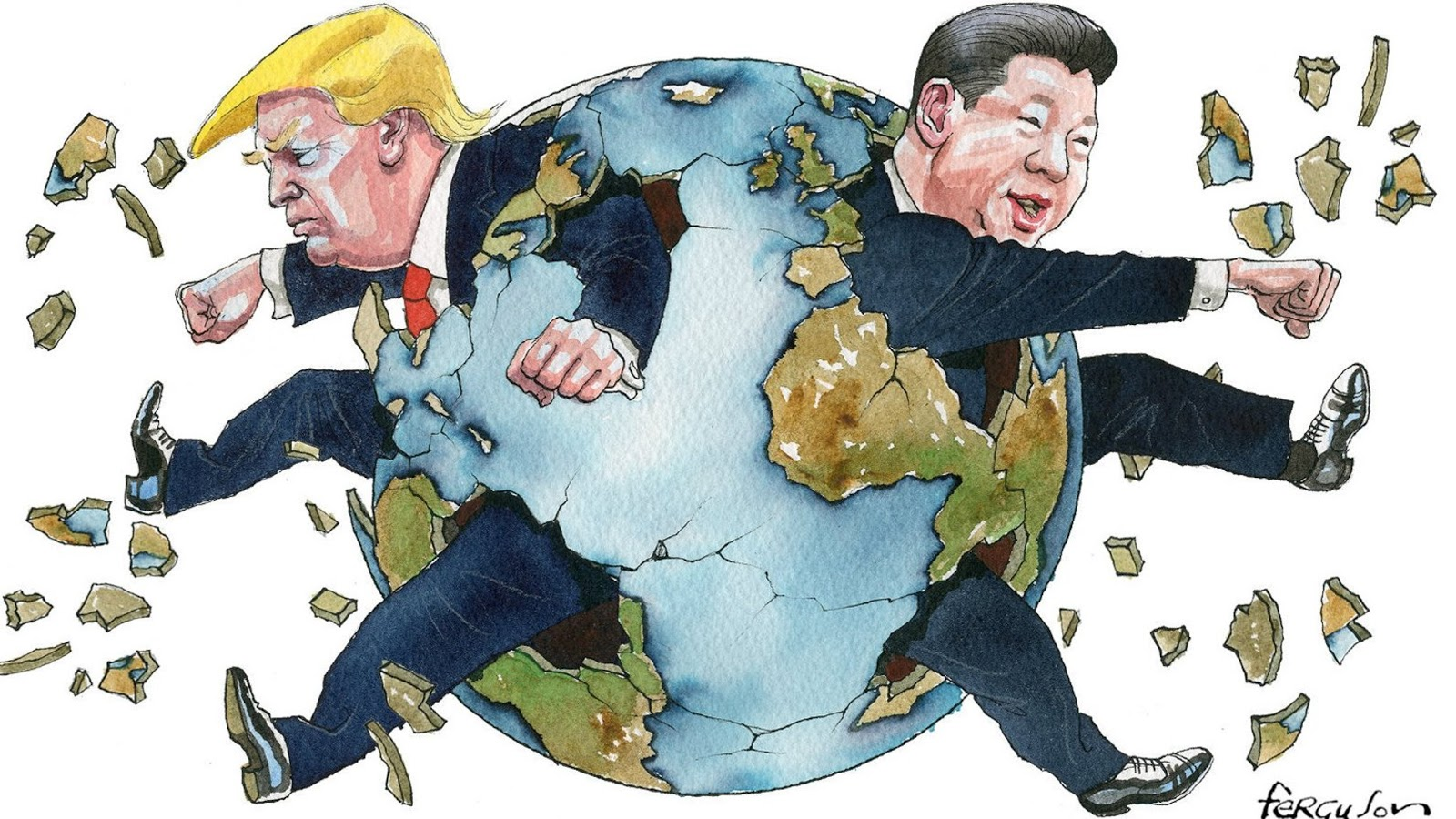 Can An Economic War Transfom