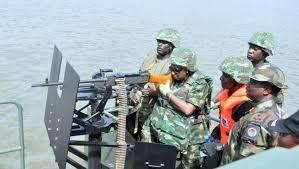 Military fighting Militants